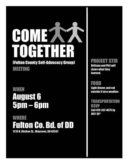 COME TOGETHER 8-6-19