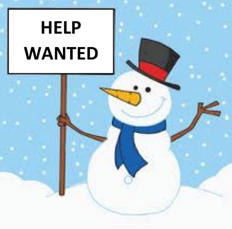 Help Wanted Snowman
