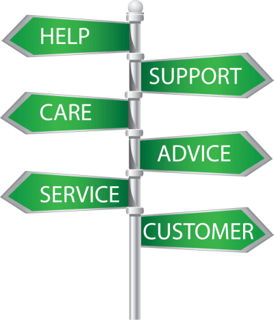 help care service support advice customer