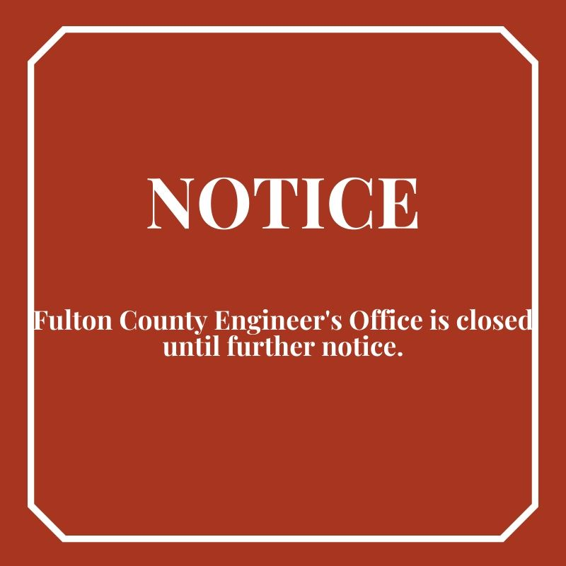 Notice Closing Engineers Office 1