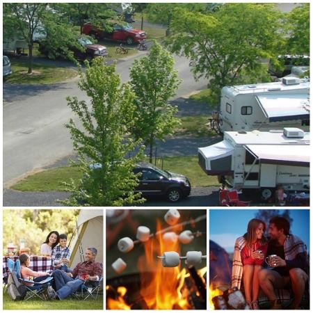 There is camping available through out Fulton County!