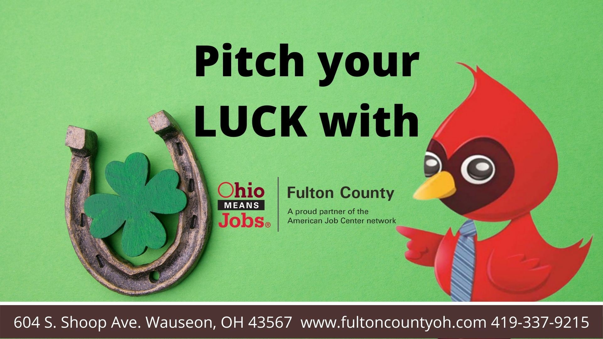 Pitch your LUCK with