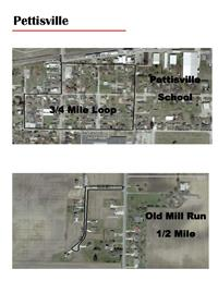 Pettisville Walking Map