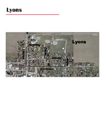 Lyons Walking Map