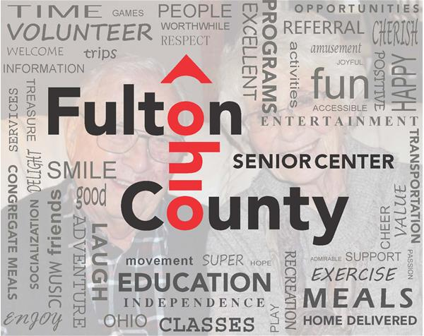 Word Collage Photo for the Fulton County Senior Center