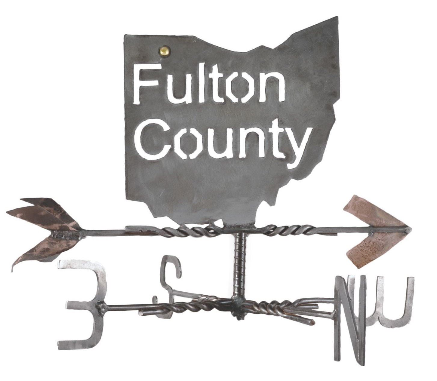 Fulton County Visitors Bureau weather vane logo