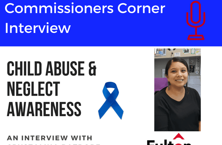 Commissioners Corner-Child Abuse Prevention