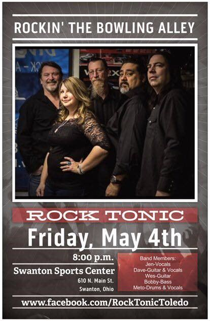 Rock Tonic at the Swanton Sports Center