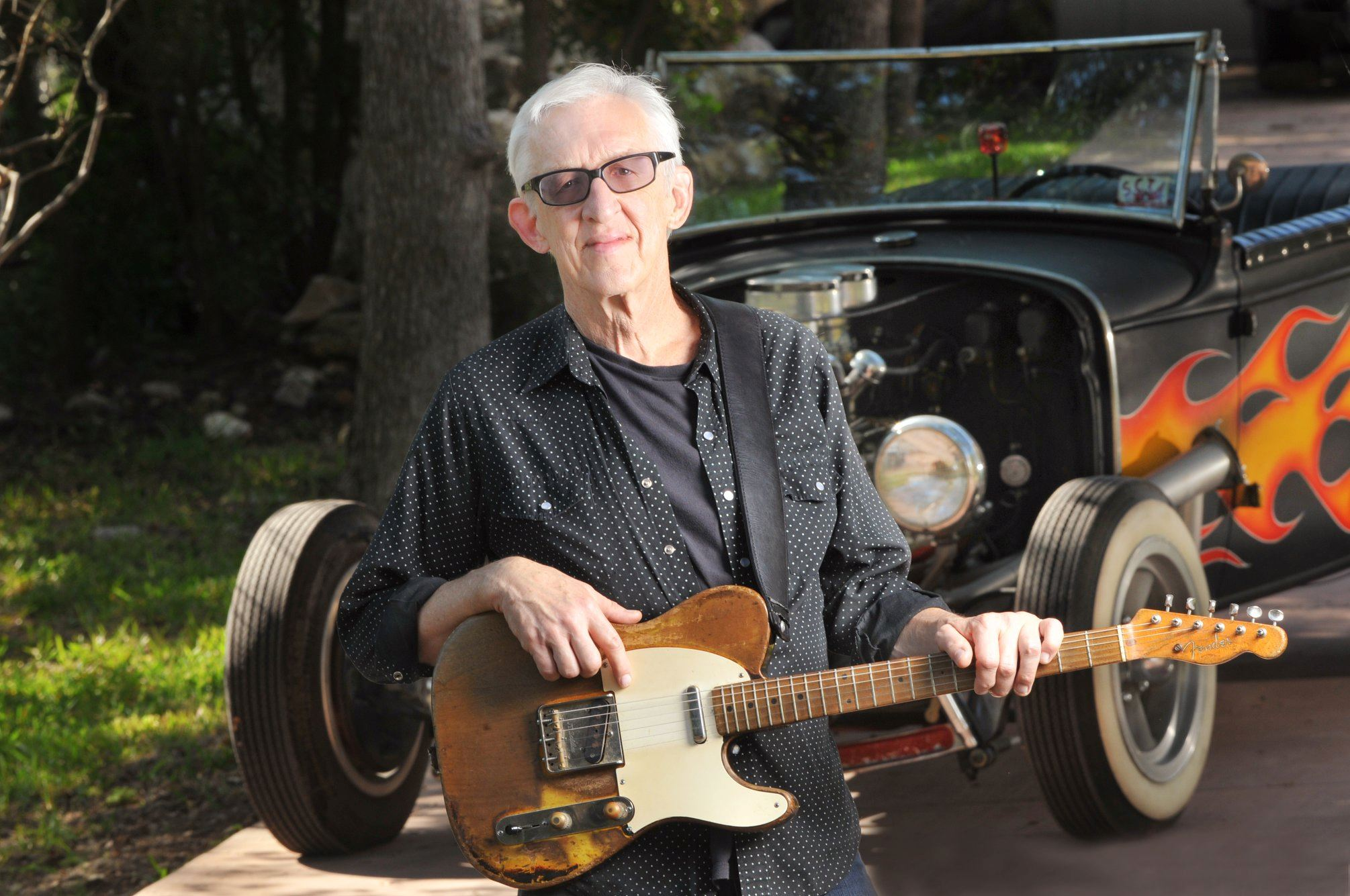 Austin to Archbold Street Party with Bill Kirchen, July 26th from 7 PM to 10 PM, Downtown Archbold.