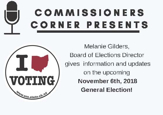 Board of Elections Commissioners Corner Announcing Melanie Gilders with the Fulton County Board of E