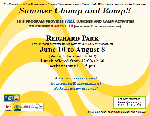 Summer Chomp and Romp