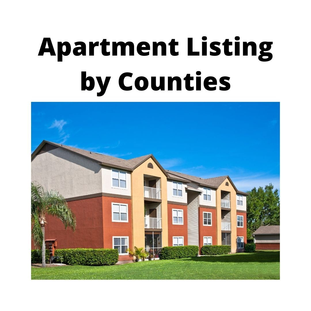Apartment Listing by Counties