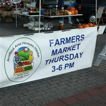 Archbold Farmers Market sign