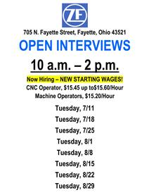 TRW Open Interviews