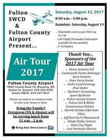 2017 Air Tour presented by Fulton SWCD and Fulton County Airport