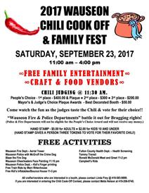 Wauseon Chili Cook Off and Family Fest