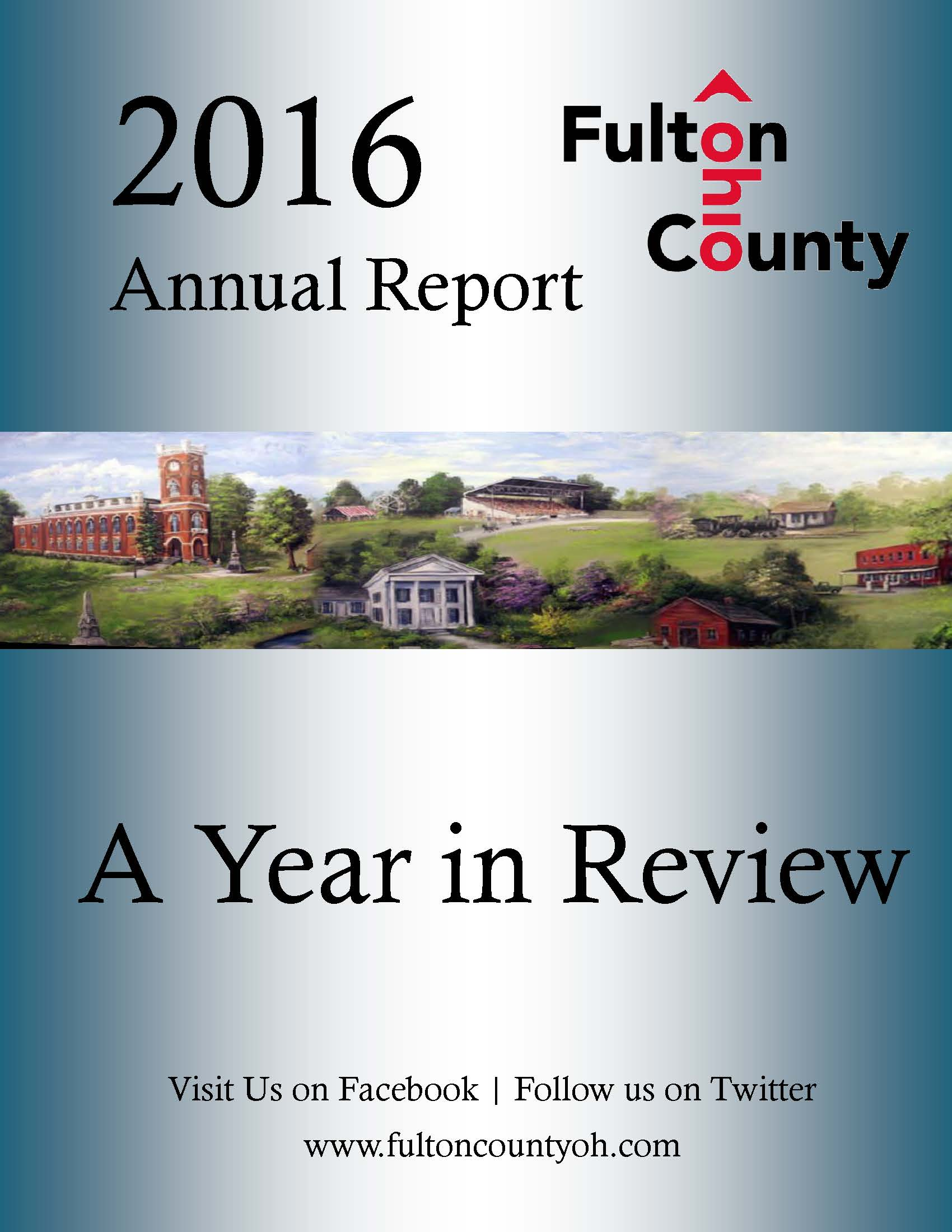 Annual Report Cover Photo Image
