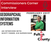 Commissioners Corner interviews Scott Yoder about Geographical Information Systems and project Critical 360
