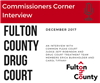 Image describing Commissioners Corner-Fulton County Drug Court
