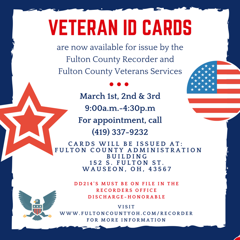 Veteran ID Card graphic