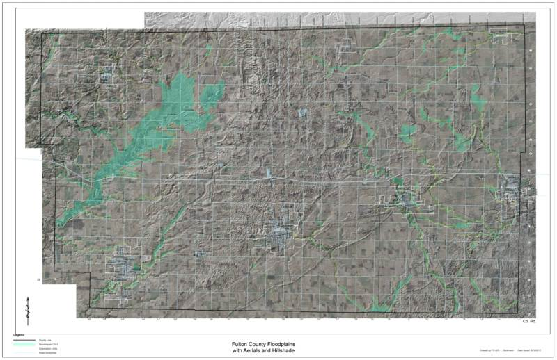 Fulton County Floodplain Map